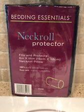 NIP Bed Bath & Beyond Bedding Essential Neckroll Protector Pillow Cover