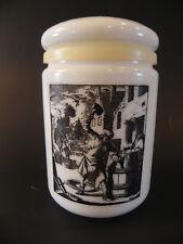 Glass Canister DE KUIPER Cerve Parma per Alimenti Whisky Barrel Maker Tobacco