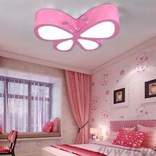 New Modern LED Butterfly Ceiling Lamp Children Bedroom Pendant Light Xmas Lamps
