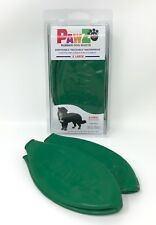 Protex PAWZ Waterproof Rubber Dog Boots - X-Large - Green - 12-Pack