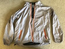 north face lightweight windbreaker jacket men size large grey
