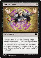 MTG Magic - (C) Commander 2015 - 4x Seal of Doom x4 - NM/M