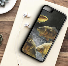 Phone Case Carp Fishing Common - Rubber - Hard Protective Back Cover For Iphone