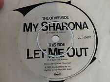 THE KNACK My sharona / Let me out CL 16087
