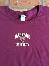 Harvard Crimson Women's Maroon Crew-Neck T-Shirt - sizes S,M, L, XL, XXL