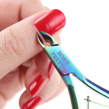 Rainbow Nail Cuticle Nipper Clipper Dead Skin Remover Manicure Tools Born Pretty