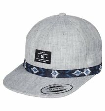 2017 NWT MENS DC FRACTAL HAT $32 adjustable snapback heather grey