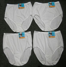 4 pairs VANITY FAIR Brief ILLUMINATION 13109 Panty STAR WHITE Size - 7 / L