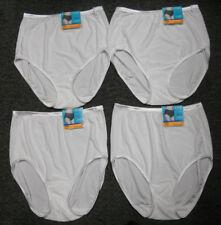 4 pairs VANITY FAIR Brief ILLUMINATION 13109 Panty STAR WHITE Size - 7 / L
