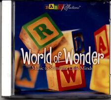 World of Wonder Instrumental Childrens Classic Music CD,Baby Shower,Nursery Gift