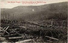 CPA MILITAIRE Les Hautes Vosges-Vue d'ensemble de la Téte du Linge (317176)