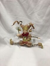 Katherine's Collection Leaping Natale Jester Christmas Ornament