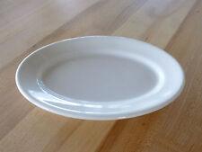 "Syracuse China Rolled Edge Wide Rim 8-3/8"" Platter -White Undec (951250138) (DZ)"