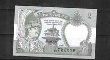 NEPAL #29b 2 RUPEES UNC MINT 1983  OLDER BANKNOTE BILL NOTE  PAPER MONEY