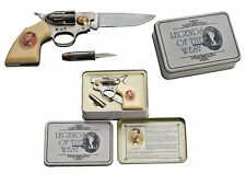 Deko Coltmesser und kleines Patronenmesser Jesse James Taschenmesser Geschenkbox