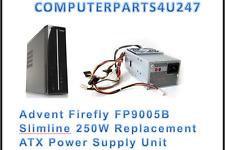 Adviento Firefly FP9005B delgada 250W fuente de alimentación ATX de reemplazo