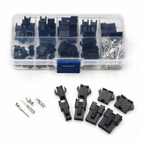 200pcs 2/3/4/5Pin Male/Female Pin Header+Terminal+Housing Connector Kit Box CAO