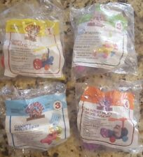 1989 ALL 4 CHIP 'N DALE RESCUE RANGERS McDonalds Happy Meal Set Mint In Packages