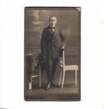 CDV PHOTO fine jeune-Metz 1910er
