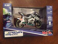 2007 Maisto Toni Elias No. 24 Honda Gresini Motorcycle Die Cast Metal,1:18 #2
