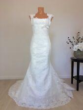 Pronovias Brautkleid Hochzeitskleid Mermaid Spitze Gr. S/36-38 Ivory