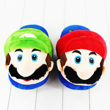 Super Bros. Mario Odyssey Slippers Nintendo Luigi Gifts Shoes Children's