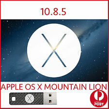 Mountain lion 10.8.5 OSX MAC Installer Bootable USB OS X macbook Pro Air iMac