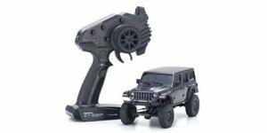 Kyosho 32521GM Mini Z 4x4 RC Car Jeep Wrangler Unlimited Rubicon Granite Crystal