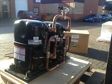 NEW L'UNITE 5HP TWIN COMPRESSOR SET, TAGD4556Y, R134A, 11kW, 415V, REFRIGERATION