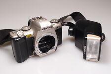 PENTAX ZX-5 BODY W/AF-330 FTZ FLASH L@@K