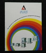 """1970s """"ALLIS-CHALMERS COMMERCIAL TRANSFORMERS"""" ELECTRICAL ENGINEERING BROCHURE"""
