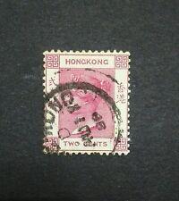 1882-96 HONG KONG Q. VICTORIA 2c used