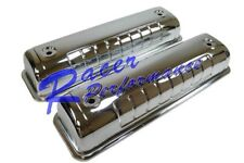 1955-64 FORD Y-BLOCK 272-292-312 VALVE COVERS - CHROME STEEL TALL V8