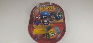 Moose's Mighty Beanz Marvel Super Heroes Series-2 5 Beanz  Spin Master 2004 S1