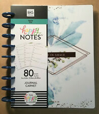 "NEW! me & my BIG Ideas The Happy Planner ""FAITH"" Guided Journal CLASSIC Size"