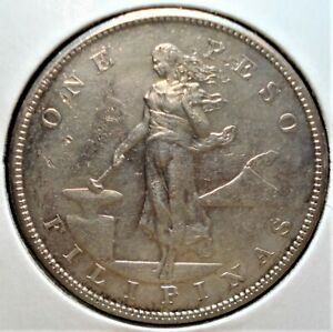 1904-S Silver Peso from the Philippines