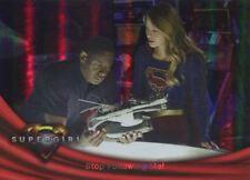 Supergirl Season 1 Rainbow Foil Base Card #16 Stop Following Me!