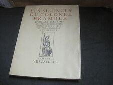 André MAUROIS: les silences du colonel Bramble. ill. Guy Arnoux