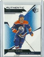 2018-19 Upper Deck SP Authentic	Profiles Blue Connor McDavid #AP-CM	Edmonton