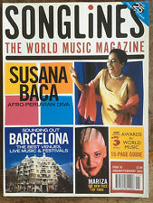 Songlines magazine 2003 - Susana Baca, Mariza, Barcelona etc