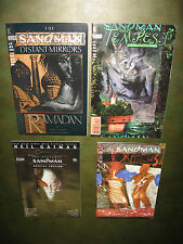 4 Sandman Milestones: Absolute #1; #50; #75; Special #1 A NM set!! Neil Gaiman!