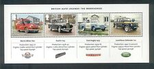 GB 2013 BRITISH AUTO LEGENDS MINIATURE STAMP SHEET