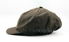 HUGO BOSS SELECTION LABEL BROWN 100% WOOL HAT ONE SIZE SMALL NEW GREAT QUALITY