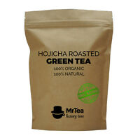 Hojicha Roasted Green Tea - Luxury Loose Leaf Weightloss Tea - 40g - 60g