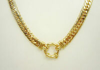 9ct (375,9K) SOLID Yellow Gold 59.09gram Large Double Curb Chain with Bolt Lock