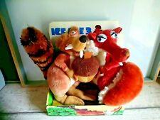 Peluches scratécureille l'age de glace Disney 22 cm Famosa 2009 boîte d'origine