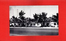 St.Petersburg,Fl Florida Cocoanut Palms Apartments, directly on the Gulf 1956
