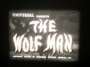 16mm Film Feature: The Wolf man (1941) Horror