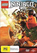 Lego Ninjago: Masters of Spinjitzu - Season 5 Volume 2 NEW R4 DVD