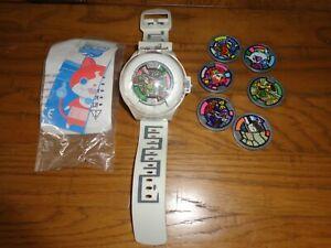 Yokai Watch Collectable +8 Medals Talking Watch Yo Kai Hasbro cool toy